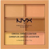 Nyx Cosmetics Conceal, Correct, Contour Palette, Women's, Medium