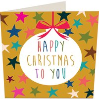 kaleidoscope Christmas cards pack of five