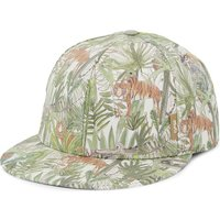 Barts Bv Jungle print cotton cap, Size: Size 50, Green