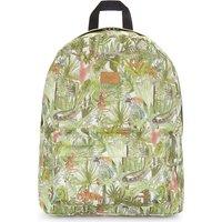 Barts Bv Jungle print backpack, Green