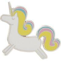 Prancing Unicorn enamel pin