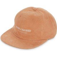 Corporate Strapback corduroy cap