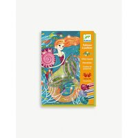 Djeco Mermaid glitter boards craft kit