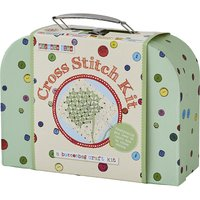 Button Bag Learn How to Cross cross-stitch suitcase set