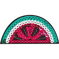 Sequin watermelon sticker