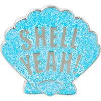 Shell Yeah enamel pin
