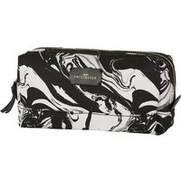 Sweet And Sour Medium marble-print square make-up bag
