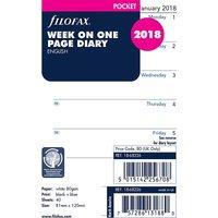 Filofax pkt week per page 2018
