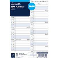 Filofax a5 year planner vertical 2018