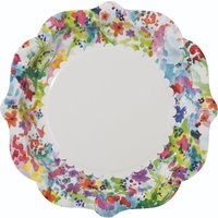 Talking Tables Pack of 12 Floral Fiesta paper plates