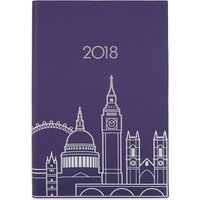 London skyline A5 2018 diary