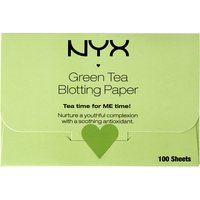 Nyx Cosmetics Green Tea Blotting Paper, Women's