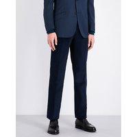 Needle straight corduroy trousers
