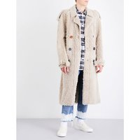 ART DAD x Off-White Shearling trench coat