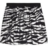 Tiger-striped metallic skirt 4-16 years
