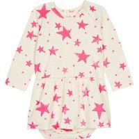 Star cotton dress 0-12 months