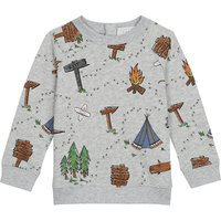 Cotton camping jumper 6-36 months