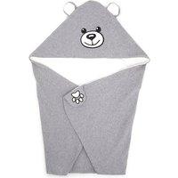 Hooded bear blanket