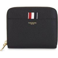 Zipped leather purse