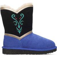 Ugg Anna coronation sheepskin boots 6-9 years, Size: EUR 31 / 12.5 UK KIDS, Blk/blue