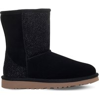 Ugg Classic short serein boot 6-9 years, Size: EUR 34 / 2 UK ADULT, Black