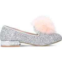 Mini Lap glitter-embellished loafers 5-7 years