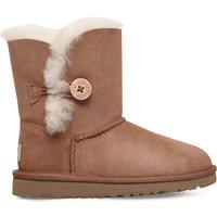 Ugg Bailey Button sheepskin boots 6-9 years, Size: EUR 30 / 12 UK KIDS, Brown