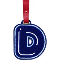 Chaos D luggage tag, Women's, Blue