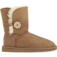 Ugg Bailey Button sheepskin boots, Women's, Size: EUR 39 / 6 UK, Brown