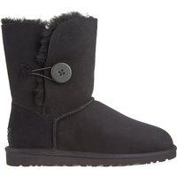 Ugg Bailey Button sheepskin boots, Women's, Size: EUR 37 / 4 UK, Black