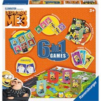 Despicable me 3, 6 in 1 game set