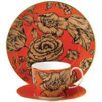 Wedgwood Vibrance 3-piece floral china set