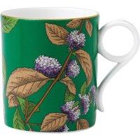 Wedgwood Green tea & mint tea garden china mug