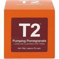 Pumping Pomegranate loose leaf tea cube 100g