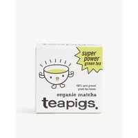 Teapigs Organic Matcha super power green tea powder 30g