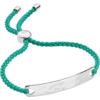 Monica Vinader Havana sterling silver friendship bracelet, Women's, silver