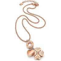 Heart4heart Sweetheart rose gold-plated necklace