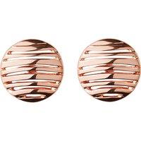 Thames 18ct rose gold vermeil earrings