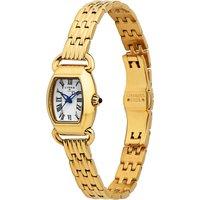 Links Of London 6010.2162 Driver Mini Tonneau rose gold-plated watch, Women's, Gold