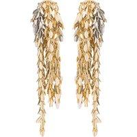 Metal chain earrings