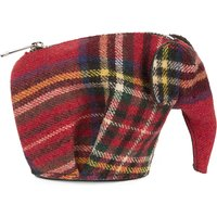 Tartan Elephant coin purse