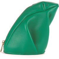 Frog leather coin purse
