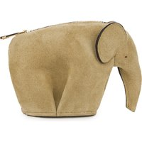 Elephant suede coin purse