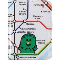 Mr. Men printed passport holder