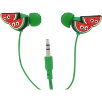 Watermelon in-ear headphones