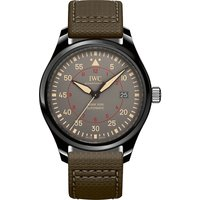 Pilot's Mark XVIII Top Gun leather and ceramic watch