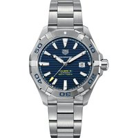 Tag Heuer Aquaracer stainless steel blue mens, Mens, Blue