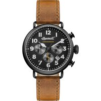 Ingersoll Trenton Quartz Chronograph Watch, Mens, black