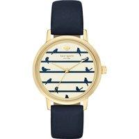 Kate Spade KSW1059 New York Metro Bird gold-plated watch, Women's