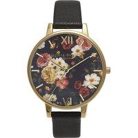 Olivia Burton Winter Garden yellow gold-plated watch, Women's, Gold